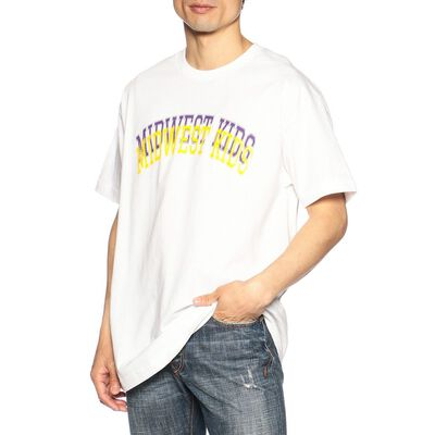 MIDWEST KIDS(ミッドウェストキッズ)ロゴプリントTシャツ