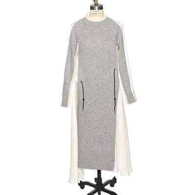 SACAI(サカイ)ドッキングロングドレス
