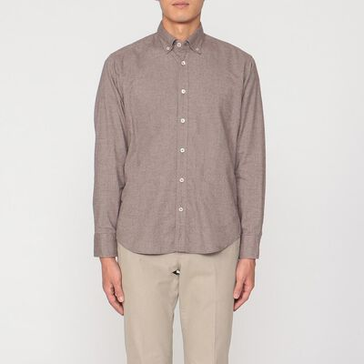 OSVALDO TRUCCHI(オズヴァルド トルッキ)フラノツイルシャツ