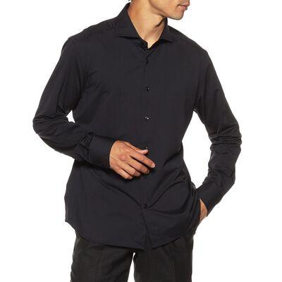XACUS(ザッカス)ナイロンイージーケアシャツ