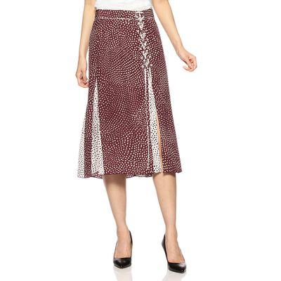 RAG & BONE(ラグ & ボーン)ミディフレアプリントスカート