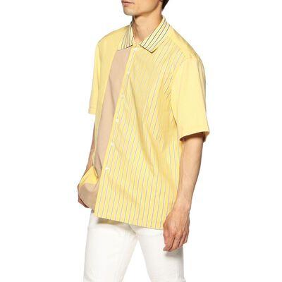 COOHEM(コーヘン)半袖パッチワークシャツ