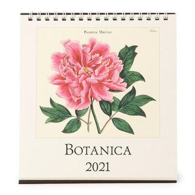 "CAVALLINI(カヴァリーニ)2021年デスクカレンダー ""BOTANICA"""