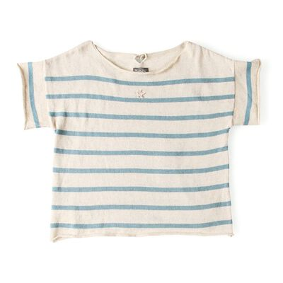 TOCOTO VINTAGE(トコトヴィンテージ)ストライプ柄Tシャツ