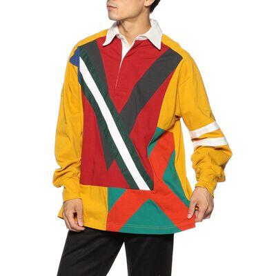 FACETASM(ファセッタズム)デザインラグビーシャツ