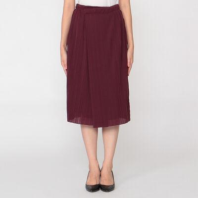BARNEYS NEW YORK(バーニーズ ニューヨーク)セットアッププリーツラップスカート