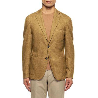 0909(ゼロナインゼロナイン)ウールメランジジャージージャケット