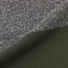 Wool Cashmere Silk Scarf: Olive