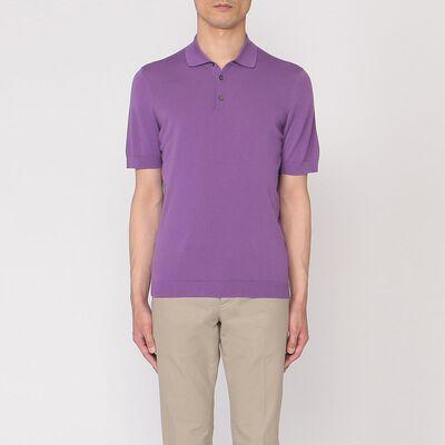 DRUMOHR(ドルモア)コットンニットポロシャツ