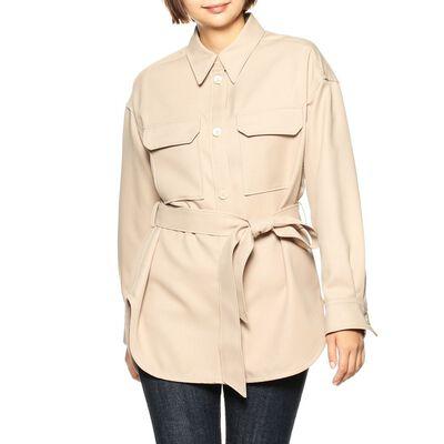 BARNEYS NEW YORK(バーニーズ ニューヨーク)ベルテッドシャツジャケット