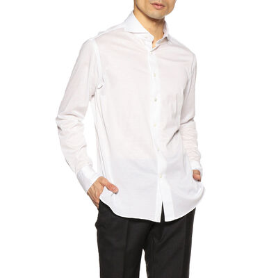 CATARISANO(カタリザーノ)メランジジャージーシャツ