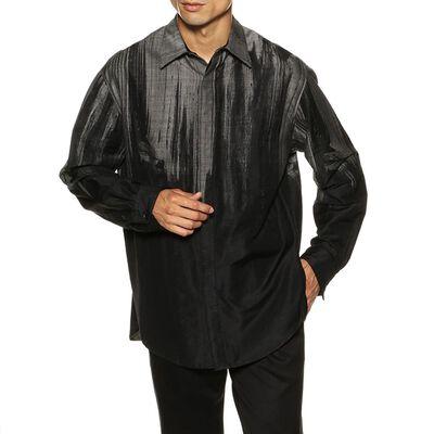 TAAKK(ターク)ウールジャカードシャツ