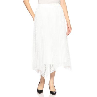 MUVEIL(ミュベール)メッシュプリーツスカート