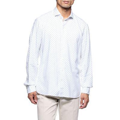 MARIO MUSCARIELLO(マリオ ムスカリエッロ)小紋柄シャツ