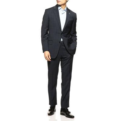 BARNEYS NEW YORK(バーニーズ ニューヨーク)ウインドーペーン柄スーツ