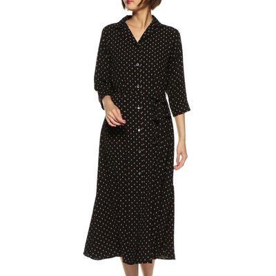 BARNEYS NEW YORK(バーニーズ ニューヨーク)ウォッシャブルフラワープリントシャツドレス