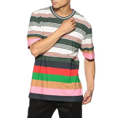 LOEWE(ロエベ)マルチボーダーTシャツ