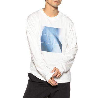 FUMITO GANRYU(フミトガンリュウ)プリントロングスリーブTシャツ