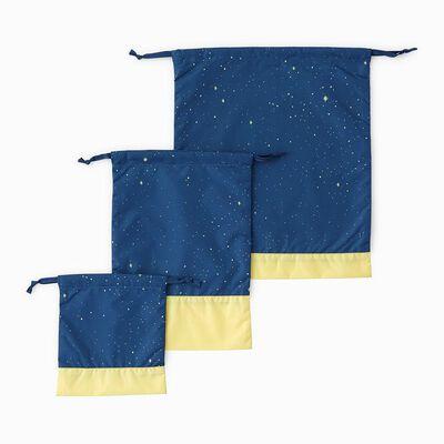 SWANMIMI(スワンミミ)巾着3枚セット (トゥインクルスター)