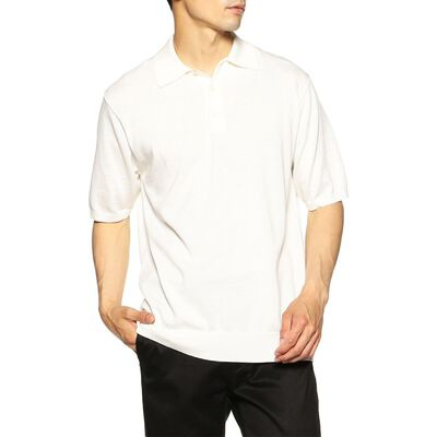 BARNEYS NEW YORK(バーニーズ ニューヨーク)コットンニットポロシャツ
