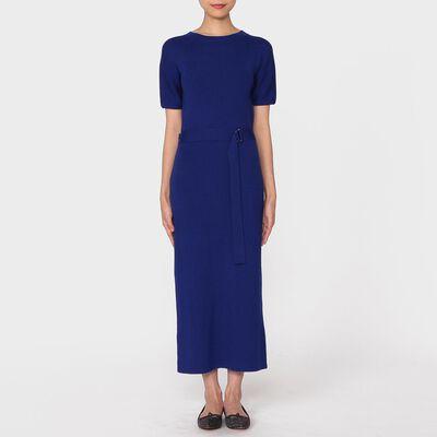BARNEYS NEW YORK(バーニーズ ニューヨーク)クルーネックニットドレス