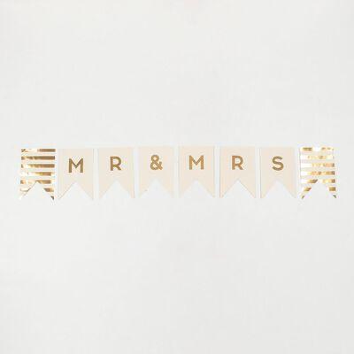 """MY MINDS EYES(マイマインドアイズ)バナー""""MR and MRS"""""""