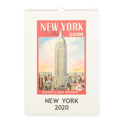 """CAVALLINI(カヴァリーニ)2020年度 壁掛けカレンダー """"NEW YORK"""""""
