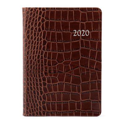 "BARNEYS NEW YORK(バーニーズ ニューヨーク)2020年手帳 ""ENBOSSED CROCO"""