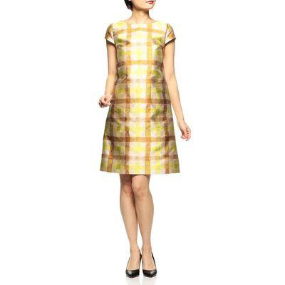 BARNEYS NEW YORK(バーニーズ ニューヨーク)ジャカードチェックドレス