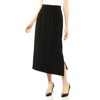 "BARNEYS NEW YORK(バーニーズ ニューヨーク)""HIGH-LINE COLLECTION"" ウォッシャブルロングタイトスカート"
