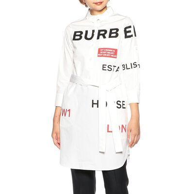 BURBERRY(バーバリー)プリントシャツドレス