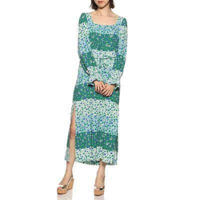 BAUM UND PFERDGARTEN(バウム ウンド ヘルガーテン)フラワープリントドレス