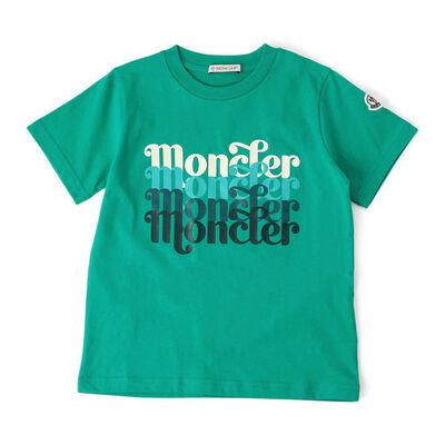 MONCLER(モンクレール)ボーイズプリントロゴTシャツ
