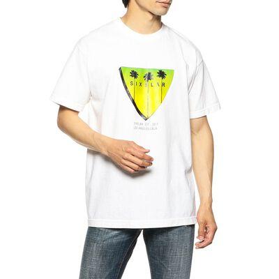 SIXELAR(シクセラ)プリントTシャツ