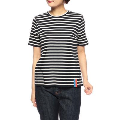 KULE(キュール)ボーダー柄Tシャツ