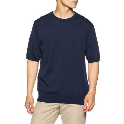 BARNEYS NEW YORK(バーニーズ ニューヨーク)海島綿 ニットTシャツ