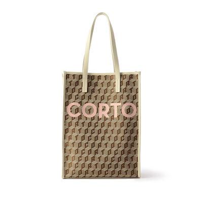 CORTO MOLTEDOロゴトートバッグ