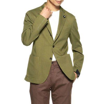 LARDINI(ラルディーニ)ジャカードジャージージャケット