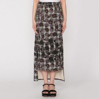 MM6 MAISON MARGIELA(エムエム6 メゾン マルジェラ)総柄タイトスカート