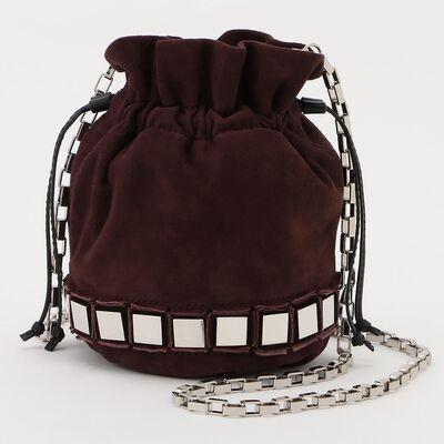 TOMASINI(トマジーニ)スタッズミニバケットバッグ