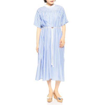 ALANI THE GREY(アラーニ ザ グレイ)ストライプシャツドレス