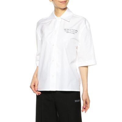 OFF-WHITE c/o VIRGIL ABLOH(オフ-ホワイト c/o ヴァージル アブロー)ベースボールシャツ