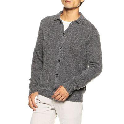 ZANONE(ザノーネ)ブークレニットシャツ