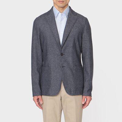 T-JACKET(ティージャケット)デニム調ウールジャケット