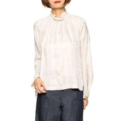 ZERO+MARIA CORNEJO(ゼロ マリア コルネホ)ジャガードシャツ
