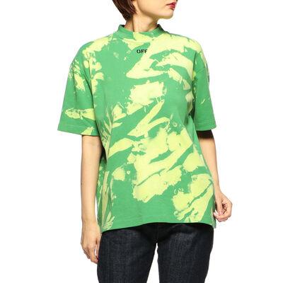 OFF-WHITE c/o VIRGIL ABLOH(オフ-ホワイト c/o ヴァージル アブロー)タイダイ柄Tシャツ