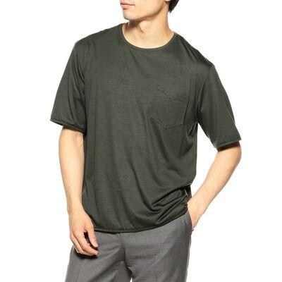 "BARNEYS NEW YORK(バーニーズ ニューヨーク)""REDA × CAMO"" ウールジャージーポケットTシャツ"