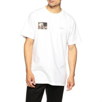 OFF-WHITE c/o VIRGIL ABLOH(オフ-ホワイト c/o ヴァージル アブロー)アロープリントTシャツ
