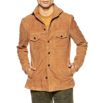 EMMETI(エンメティ)限定スエードシャツジャケット