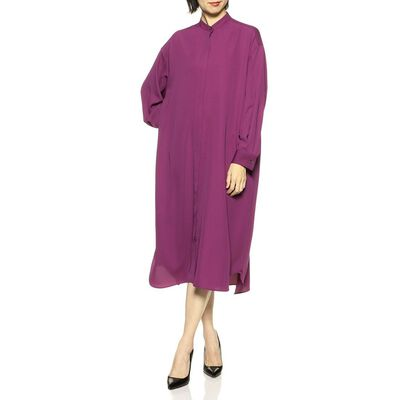 BARNEYS NEW YORK(バーニーズ ニューヨーク)ウォッシャブルラップシャツドレス